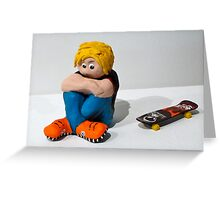 Skatehead Greeting Card