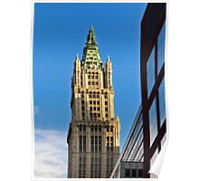 Woolworth Building - New York City Poster