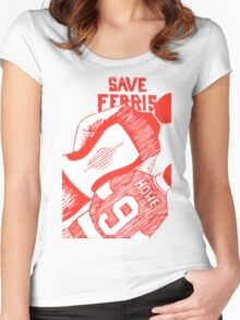 Save Ferris Women's Fitted Scoop T-Shirt