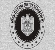 Mega-City One Justice Department Judge Dredd Kids Clothes