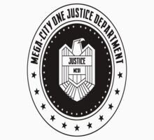 Mega-City One Justice Department Judge Dredd Kids Clothes