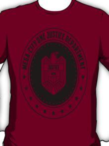 Mega-City One Justice Department Judge Dredd T-Shirt