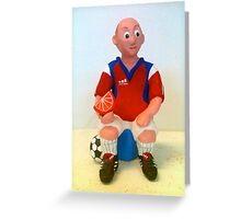Paul the soccer player Greeting Card