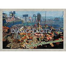 Diamond City  - The green jewel of the Commonwealth Photographic Print