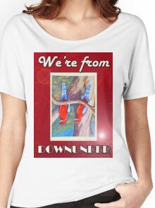 WE'RE FROM DOWNUNDER Women's Relaxed Fit T-Shirt