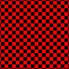 Checkerboard - Red by chrishull