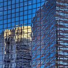 FiDi Reflections - New York City by Joel Raskin