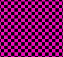 Checkerboard - Purple by chrishull