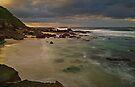 Birdie Beach Sunrise by bazcelt