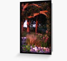 Sunset Woods Greeting Card