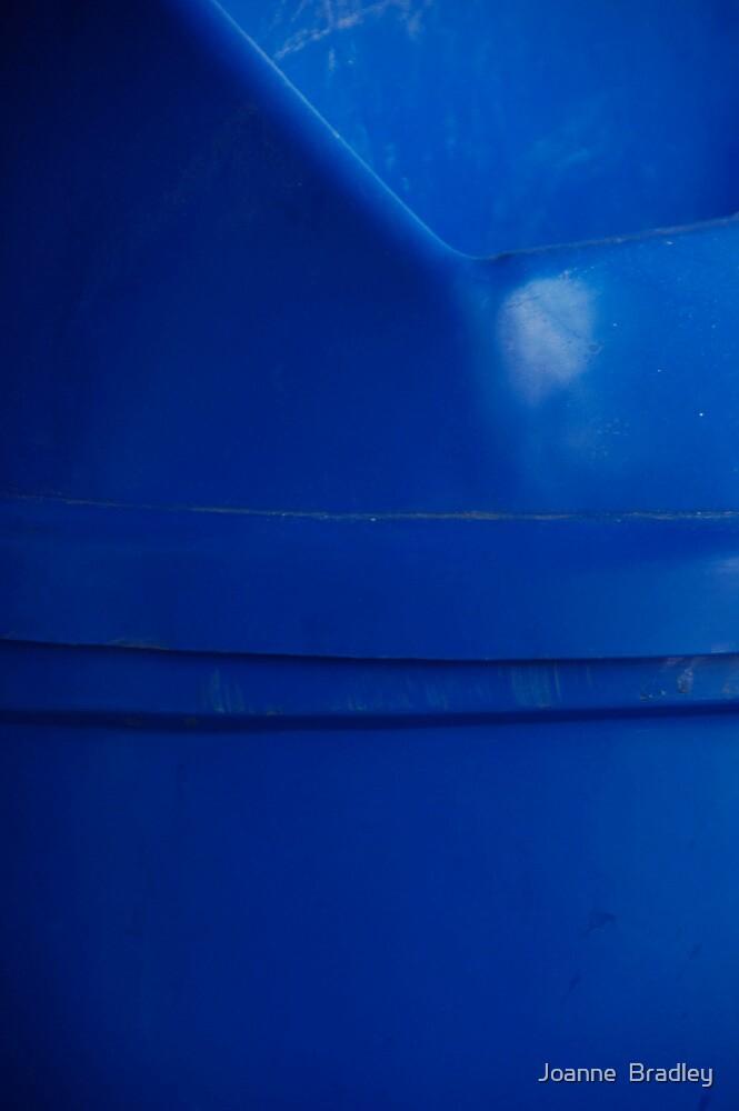 Blue Bin by Joanne  Bradley