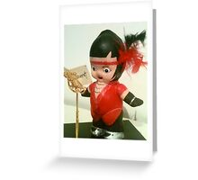 Cabaret Kewpie Greeting Card