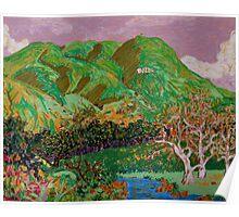Cahuenga Peak primeval David Olson Poster