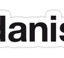 DANISH Sticker