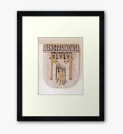 Coat of arms. Framed Print