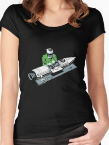 Rocket Surgeon funny nerd geek geeky Women's Fitted Scoop T-Shirt