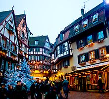 Christmastime in Alsace-Lorraine by Caylena Cahill