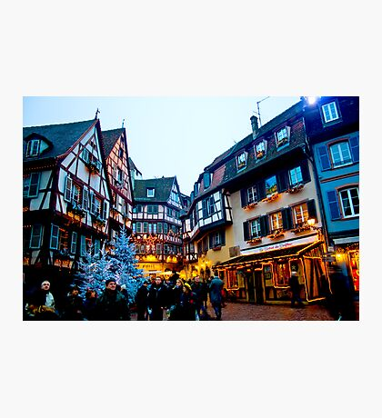 Christmastime in Alsace-Lorraine Photographic Print