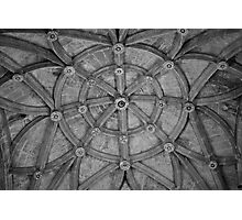 Ceiling Spiral Photographic Print