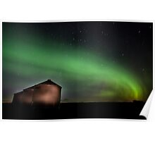 Northern Lights Saskatchewan Canada Poster