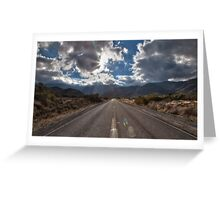 Road, San Diego County Greeting Card