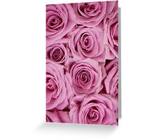 Southern Belle - pink roses Greeting Card