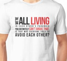 We're are all living_version 2 Unisex T-Shirt
