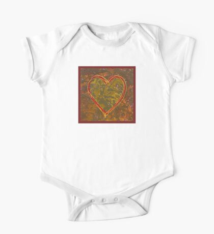 Heart of Gold One Piece - Short Sleeve