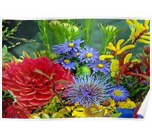 Floral V Poster
