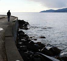 Walk Beside The Ocean by RainyDayPoetry