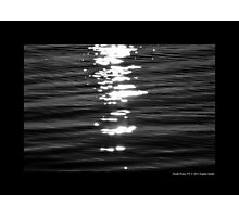 Atlantic Ocean Sun Glitter - Smith Point, New York Photographic Print