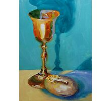 Communion Cup Photographic Print