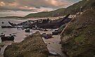 Wreck of the Allenwood, Birdie Beach by bazcelt
