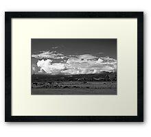 Between storms Framed Print