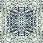 Spiral Blue by KingstonPrints