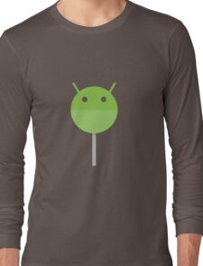 Android Lollipop Long Sleeve T-Shirt
