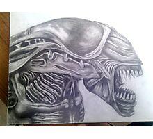 Alien Queen Head [Completed] Photographic Print