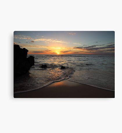 Sunshine Coast Canvas Print