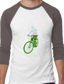 Green Transport 6 Men's Baseball ¾ T-Shirt