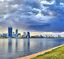 Perth City Sunrise by Jacqui Hunt