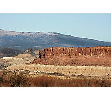 """"""" Awesome Landscape Of New Mexico """" Photographic Print"""