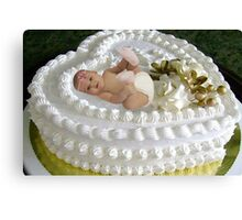 ☃ ㋡ SWEET BABY CAKE ㋡ ☃ Canvas Print