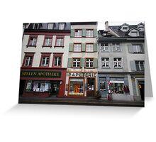 Baden, Switzerland Greeting Card