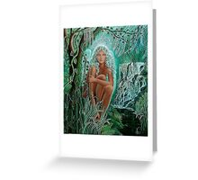 Chrystaline Angel Greeting Card