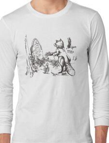 The Solemn Fox Long Sleeve T-Shirt