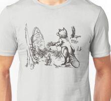 The Solemn Fox Unisex T-Shirt