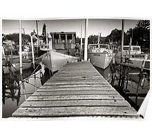 Stockton Moorings 3 Poster