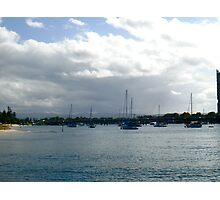A Mass of Masts Photographic Print