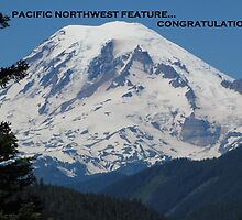 Mount Rainier - PNW Feature Banner Challenge 031813 by Mary-Elizabeth Kadlub