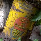 Old rusty can by Nicole W.